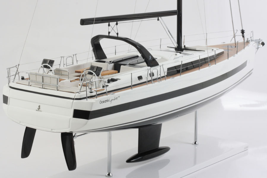... made in partnership with Bénéteau Shipyard from the original plans
